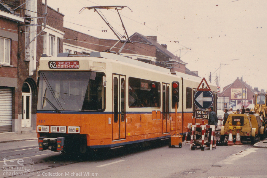6112 - Chaussée de Bruxelles - 1981