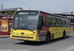 Le 7060 à Charleroi Sud - avril 2010