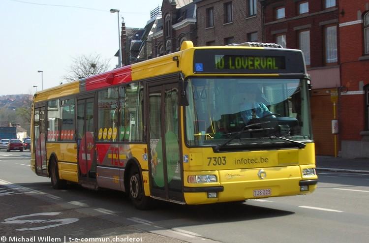 7303 - Gilly, chaussée de Fleurus - avril 2007