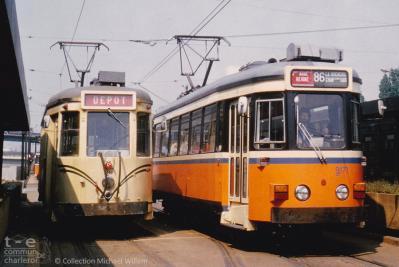Charleroi Sud - Motrices S Métro et S Jumet