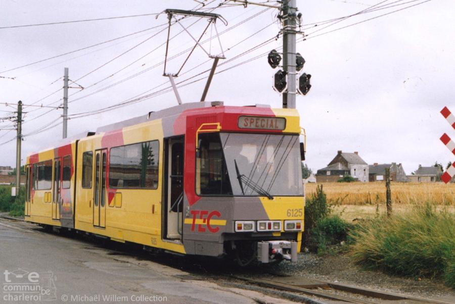 6125 - Anderlues Jonction - Juillet 1991